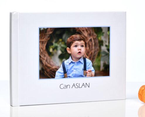 15 - 20 Fotoğraflık 21x56 cm Çocuk Fotoğrafı Albümü