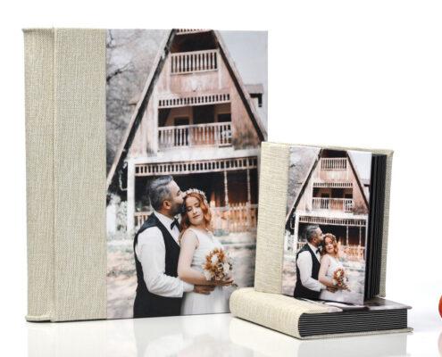 25 Fotoğraflık 30x50 Cm Düğün Nişan Fotoğraf Albümü