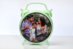 fotoğraf baskılı çalar saat, saat içine foto baskı, saate fotoğraf baskısı fiyatları